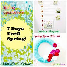 Days Until Spring 2014 Craft