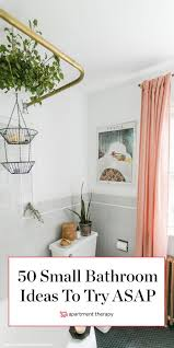 fifty genius small bathroom decorating and layout ideas