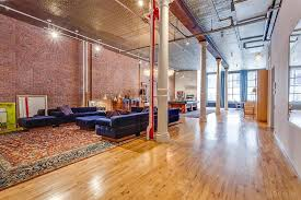 Living Room from Adam Levine & Behati Prinsloo s NYC Loft