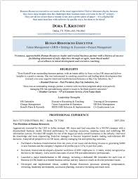 HR Executive Resume Sample — Thrive! Resumes