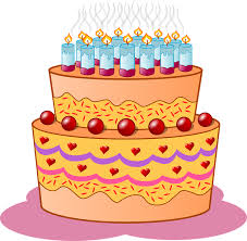 Birthday Cake Candles Icing Cream Flame Event