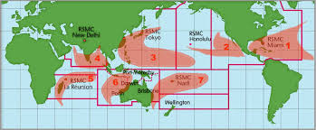 tcfaq f1 what regions around the globe have tropical cyclones and who