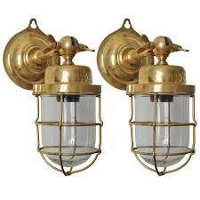 wall sconce ideas nautical sconces brass contemporary