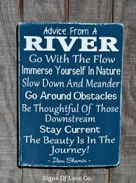 100 River House Decor Signs Advice From A Wooden