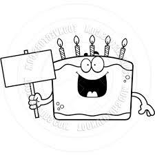 best 15 happy birthday cake clipart black and white panda free cdr