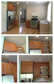 Kitchen Cabinet Soffit Ideas by Best 25 Above Cupboard Decor Ideas That You Will Like On