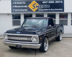 100 Short Bed Truck 1969 Chevy C10 PRO Touring 1356 Swerve Auto LLC Used Cars