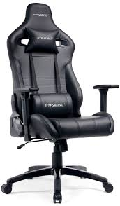 GTracing Gaming Chair Racing Style Recliner Seat Height Adjustment Computer  Office Chair With Pillows GTF83 (Black)
