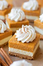 Solid Pack Pumpkin Pie Recipe by Layered Pumpkin Pie Cheesecake Bars Life Made Simple