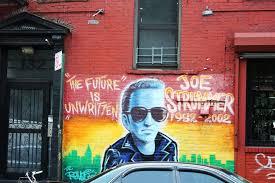 Joe Strummer Mural East Village by Town Summer In The City The Nyc U201clife Is Good U201d Bike Tour U002711