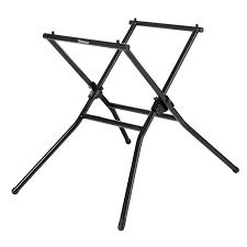 shop kobalt steel adjustable tile saw stand at lowes com