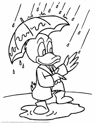 Rainy Day Coloring Pages Best