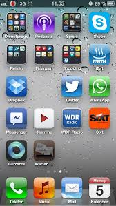 What happened here Stock 6 0 on iPhone 5 Can t move apps there