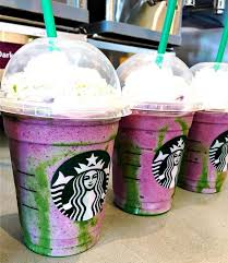 The Mermaid Frappuccino Starbucks