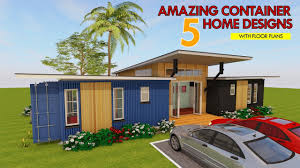 100 Shipping Container Homes Floor Plans Best 5 MODERN HOUSE DESIGNS With FLOOR PLANS 2018 ShelterMode