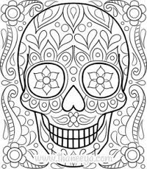 Medium Size Of Coloring Pagescolor Pages For Free Sugar Skull Page By Thaneeya