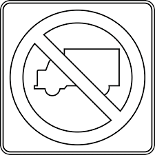 100 Signs For Trucks No Outline ClipArt ETC