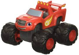 100 Monster Truck Cake Pan Amazoncom Blaze And The Machines Topper Toys Games