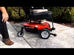 jazzy select elite power chair youtube