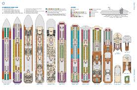 Disney Wonder Deck Plan by Carnival Cruise Lines Destinations With Character Travel Agency