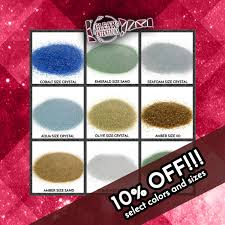 10 OFF Select Colors And Sizes Galaxy Glass Size Crystal 1lb