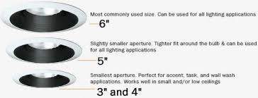 recessed lighting design ideas recessed light bulb sizes