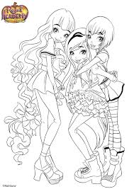 Coloriage Totally Spies A Imprimer Gratuit