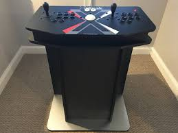 Arcade Cabinet Plans Tankstick by Diy Kit Wiz X Arcade 2tb Arcade Pc Pedestal System Do It Yourself