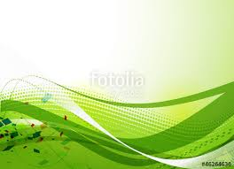 Abstract Green Lines Vector Background Poster Design