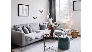winter makeover im wohnzimmer möbel deko in natur grün