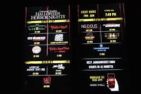 Halloween Horror Nights Annual Pass Hollywood by Halloween Horror Nights 2017 At Universal Studios Hollywood