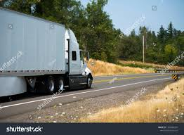 100 Aerodynamic Semi Truck Big Rig White Dry Stock Photo Edit Now 1252463269