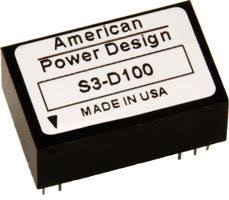 High Voltage DC DC Converters American Power Design Inc