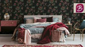 moderne tapeten für das schlafzimmer bricoflor