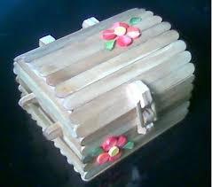 Handmade Crafts From Ice Cream Sticks