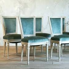 Teal Dining Chairs Traditional Best Ideas On Mid Room