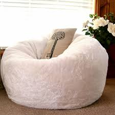 Aqua Fuzzy Bean Bag Chair Filling Chairs For Adults About To Kids Innovations