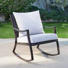 contemporary outdoor rocking chairs tribu vis a garden rocking