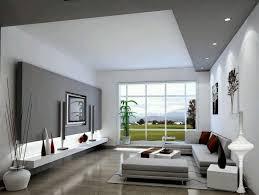 schlicht gehaltenes wohnzimmer in weiß und grau wohnzimmer