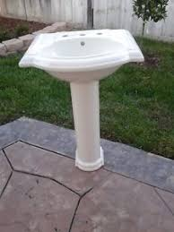 pedestal sink base ebay