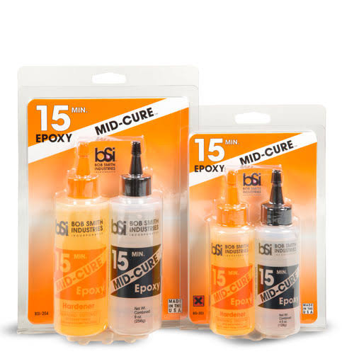 Bob Smith Industries 204 Mid-Cure 15 Minute Epoxy - 9 oz