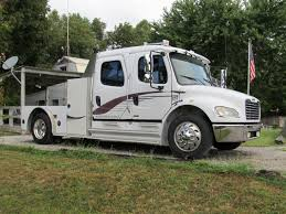 FREIGHTLINER Hauler Trucks For Sale Sportchassis Model P2 Crewcab Cversion Freightliner 8lug P4xl Is A Luxury Sport Utility Truck 95 Octane Other Rvs For Sale 12 Rvtradercom 2016 Sportchassis F141 Kissimmee 2017 2014 Freightliner M2 106 Sport Chassis Medium Dutytruck For Sale 8073 40 Chevy Elegant Kodiak Chassis Trucks And Toters Peterbilt Super Duty D 2007 Ranch Hauler 5th Wheelhorse Anyone Running Page 3 Offshoreonlycom
