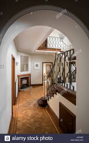 View Through Archeay To Wrought Iron Banister On Staircase In ... Sol Kogen Edgar Miller Old Town Feature Chicago Reader Model Staircase Black Banister Phomenal Photos Design Best 25 Victorian Hallway Ideas On Pinterest Hallways Hallway Avon Road Residence By Bhdm 10 Updating A 1930s Colonial House To Rails Top Painted Stair Railings Ideas On Skylight And Lets Review All My Aesthetic Choices In One Post Decoration Awesome Fixtures Wall Lights Over White Color I Posted Beauty Shot Of New Banister Instagram The Other Chads Crooked White Oak Staircases 2 Paint Out Some Silver Detail Art Deco Home Stock Photo Royalty Spindles Square Newel