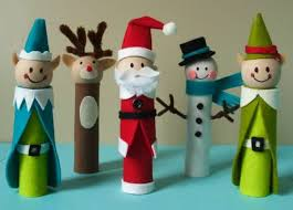 10 Christmas Toilet Paper Roll Craft
