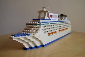 lego disney cruise ship upper deck close up rmc pinterest