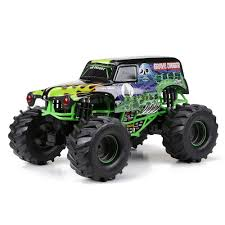100 Monster Trucks Rc New Bright Jam 110 Scale Remote Control Vehicle Grave