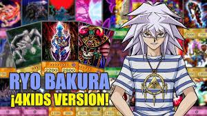 yugioh bakura character deck yu gi oh ryo bakura deck gaia oricards