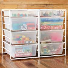 Sterilite 4 Drawer Cabinet by Drawer Units U0026 Custom Drawer Carts The Container Store