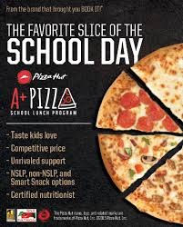 Pizza Hut School Lunch