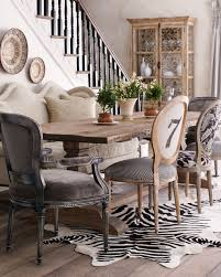 Shabby Chic Dining Room Chair Covers by Dining Rooms Awesome Faux Cowhide Dining Room Chairs Pair Of